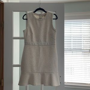 Heather Gray Loft Tulip Dress